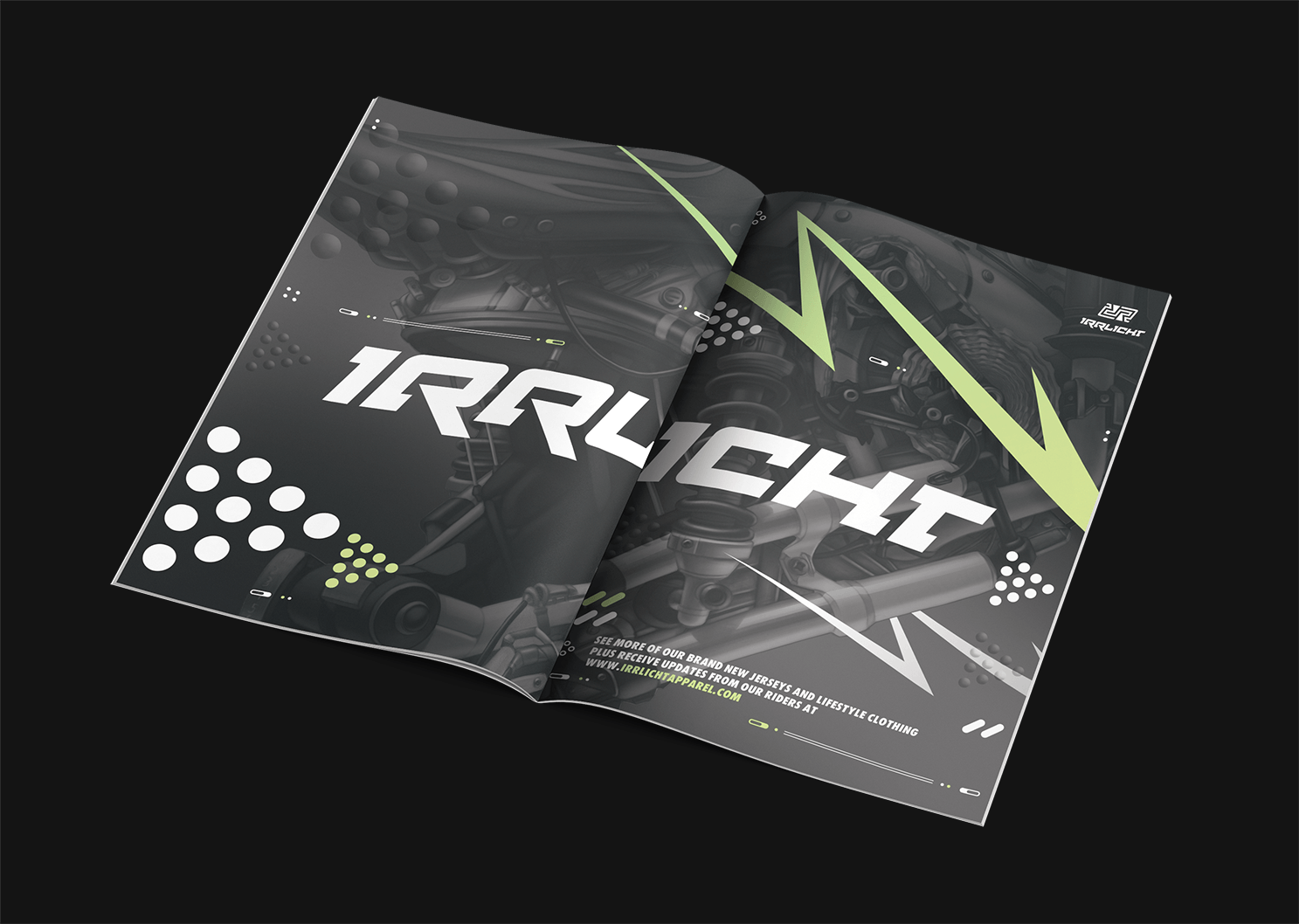 Redkroft. – brand design studio Irrlicht – catching the true downhill spirit.
