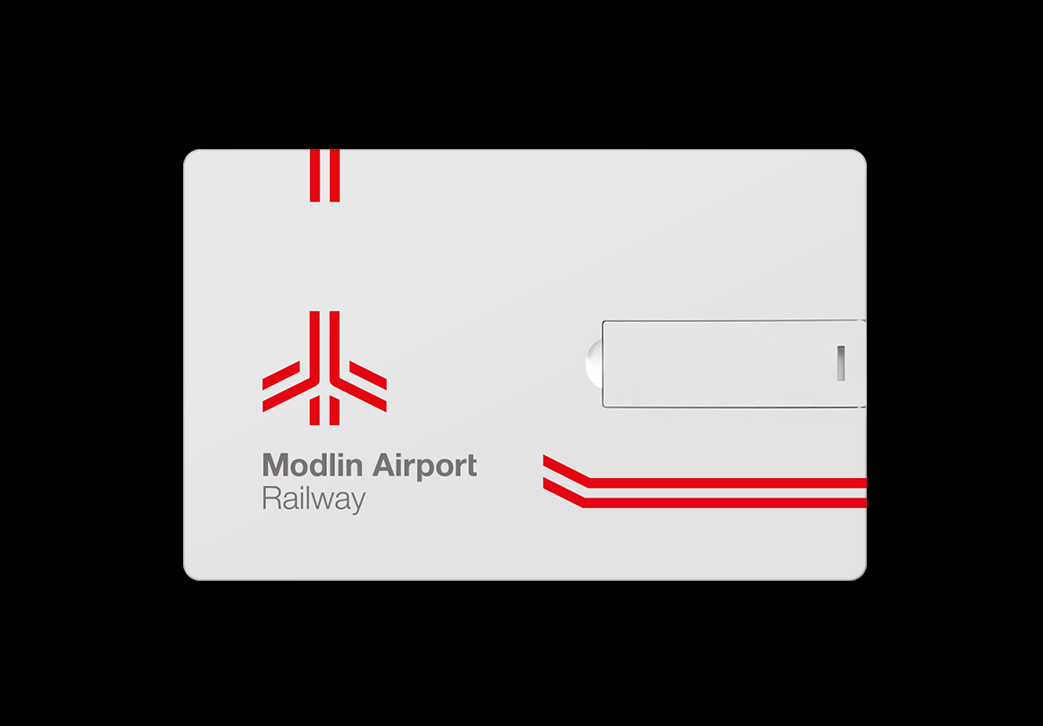 Redkroft. – brand design studio Modlin Airport Railway – visual identity system for the railway project.